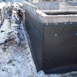 foundation wrap water proofing foundation walls